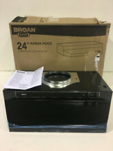 Broan 462423 24 in  Convertible Under Cabinet Range Hood with Light in Black