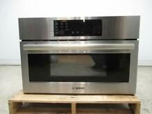 Bosch 30  SS 1 6 Cu  Ft 10 Levels 2 in 1 microwave Speed Oven HMC80251UC