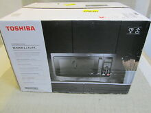 New Toshiba EM131A5C BS Microwave Oven 1 2 Cu ft  1100W