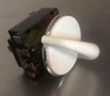 GE PROFILE Dryer Temperature Selector Switch 572D437P010  ASR4373 122T With Knob