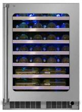 Marvel 24  5 2 Cu  Ft Stainless Steel Single Zone Wine Refrigerator MP24WSG0RS