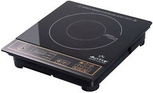 Induction Cooktop 1800W Portable Gold Electric Range Stove Countertop Burner