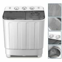 4 Ever Portable Mini Compact Washing Machine Twin Tub Washer And Spinner Dryer C