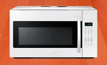 SAMSUNG 1 8 Cu Ft  OVER THE RANGE MICROWAVE WITH SENSOR WHITE LOCAL PICKUP ONLY
