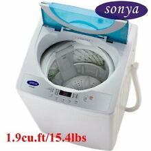 Sonya Compact Portable Apartment Small Washing Machine Washer 1 9cuft 15 4lbs f