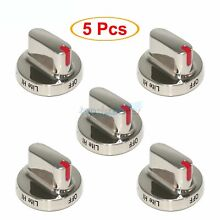 5PCS Dg64 00473A Dial Knob Compatible with Samsung Range Oven Gas Stove Knob Lot
