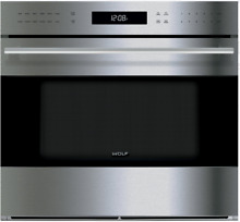 Wolf E Series SO30TESTH 30 Inch Single Electric Wall Oven with True Convection