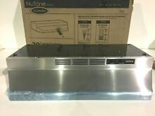 NuTone RL6230SS 30 in  Non Vented Range Hood in Stainless Steel New