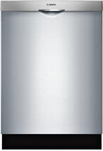 Bosch SHS63VL5UC 300 Series Fully Integrated Dishwasher in Stainless Steel