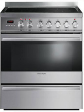 Fisher   Paykel  OR30SDPWIX1 30  Freestanding Induction Range in Stainless Steel