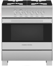 Fisher   Paykel OR30SDG4X1  Contemporary Series 30 Inch Freestanding Gas Range