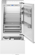 Bertazzoni REF36PRR 36 Inch Bottom Mount Refrigerator Built In Panel Ready