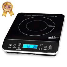 Duxtop Portable Induction Cooktop Countertop Burner Induction Hot Plate LCD New