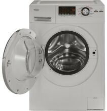 HAIER HLC1700AXW 24  WHITE COMPACT FRONT LOAD WASHER DRYER COMBO APARTMENT