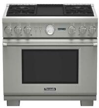 NIB Thermador 36  4 Sealed Star Burners Pro Style Dual Fuel Range PRD364JDGU