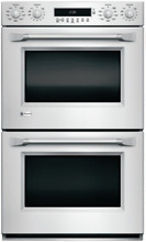 Monogram ZET2PHSS 30 Inch Smart Double Electric Wall Oven with Wi Fi Connect