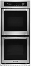 KitchenAid KODC304ESS 24  Stainless Steel Double Wall Oven Convection Stainless