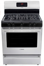 Bosch HGS3053UC Ascenta Series 30 Inch Freestanding Gas Range Stainless Steel