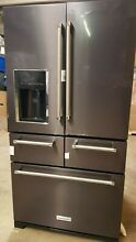 KITCHENAID KRMF706EBS01 25 8 cu  ft  French Door Refrigerator