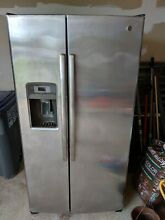 Ge profile refrigerator stainless steel