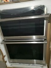 Samsung NQ70M6650DS 30  Microwave Combination Wall Oven Steam Cook Dual Convect