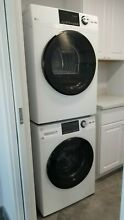 Brand NEW 24  GE stackable washer dryer with STEAM