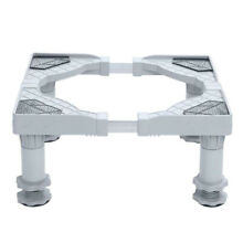 Washing Machine Refrigerator Base Pedestal Adjustable Stand Stainless Steel ABS
