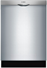 Bosch SHSM63W55N 300 Series Fully Integrated Dishwasher with 3rd Rack Stainless