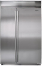 Sub Zero BI48SIDSTH 48 Inch Built in Side by Side Refrigerator Stainless Steel