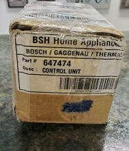 Bosch Dishwasher Control Unit 647474