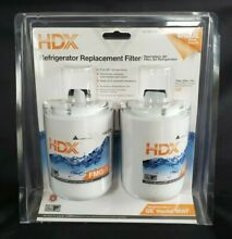 HDX FMG 1 Refrigerator Water Filter 2 Pack   Replaces GE MWF Fast FREE Shipping