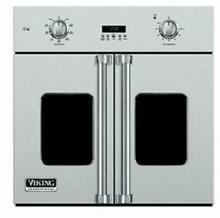 Viking Professional 7 Series 30  4 3 Cu Ft French Door Wall Oven VSOF7301SS