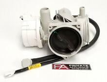 EAU64082901  LG Washer  Drain Motor Pump Assembly with Housing and Harness