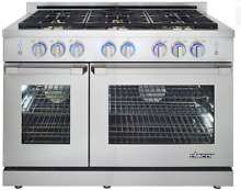 Dacor RNRP48GSNG Renaissance 48 Inch Freestanding Gas Range with 6 Burners