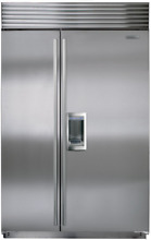 Sub Zero BI 48SD S TH 48 Inch Built in Side by Side Refrigerator Stainless Steel