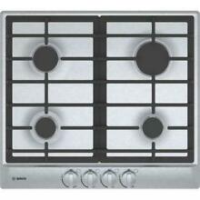 Bosch 500 Series 24  Automatic Electronic 4 Burner SS Gas Cooktop NGM5456UC