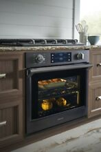 Samsung 30  Black Stainless Steel Built in Single Wall Self Cleaning Oven Wifi