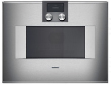 Gaggenau 400 Series BM450710 1 3 cu  ft  Built in Microwave Oven Stainless