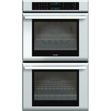 Thermador Masterpiece 30  Halogen Lighting Double Electric Wall Oven ME302JS