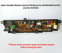 Haier Portable Washer Washing Machine Control PCB Board for HLP021WM HLP21E