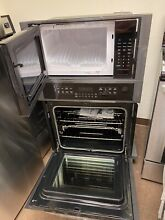 Frigidaire 27  Electric Combination Micro   Convection Wall Oven FGMC2766UD