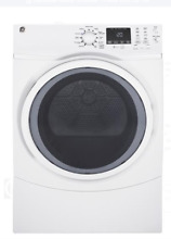 GE GFD45GSSMWW 27 Inch Gas Dryer with Steam Refresh   Stackable in White