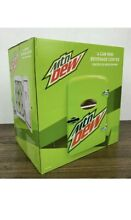 Mt Dew 6 Can Mini Beverage Center  120 Or 12 Volt  Holds 6 12oz  Cans  New
