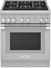 Thermador PRG305WH Pro Harmony 30  5 Burner Pro Style Gas Range Stainless Steel