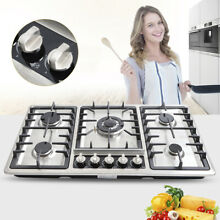 Hot  Built In 5 Burners Stove Top Gas Cooktop Kitchen Gas Cooking High Quality