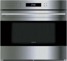 Wolf E Series 24  SS 1 6 cu  ft  11 Modes Convection Capacity Oven SO24TESTH