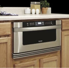 Sharp Stainless Steel Microwave Oven Drawer