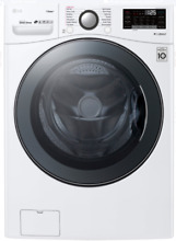 LG WM3900HWA 27 Inch Front Load Washer with Steam and TurboWash in White