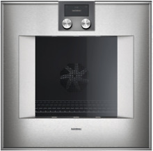 Gaggenau BO451612 400 Series 24 Inch Electric Wall Oven in Stainless Steel