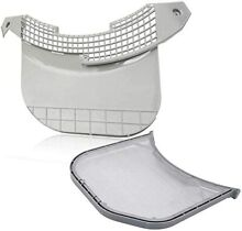 MCK49049101 Dryer Lint Screen Cover Guide with ADQ56656401 Lint Filter for LG